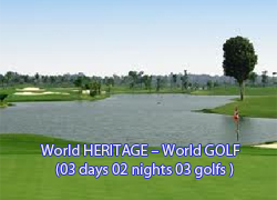 World HERITAGE – World GOLF SIEMREAP LAKE Resort Golf Club - PHOKEETHRA Country Club - ANGKOR Golf Resort